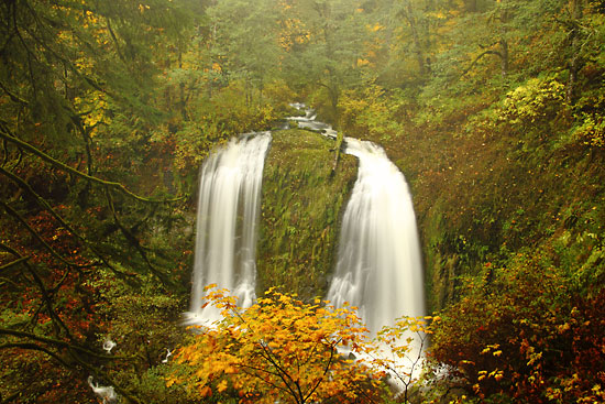 McCord Creek Falls, Waterfalls in the Columbia Gorge, Oregon