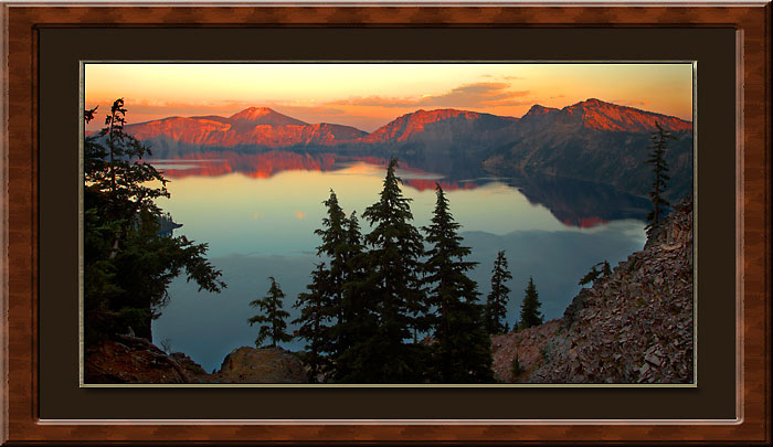Crater Lake National Park Oregon Mt. Mazama caldera Cascade Mountains