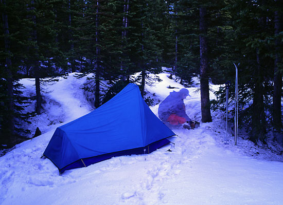 Ski Camping Rocky Mountain National Park
