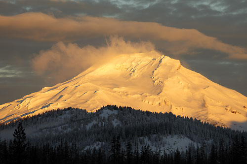 South Sister from Mt. Bachelor, Oregon