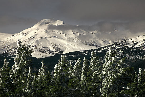 South Sister from Mt. Bachelor Oregon