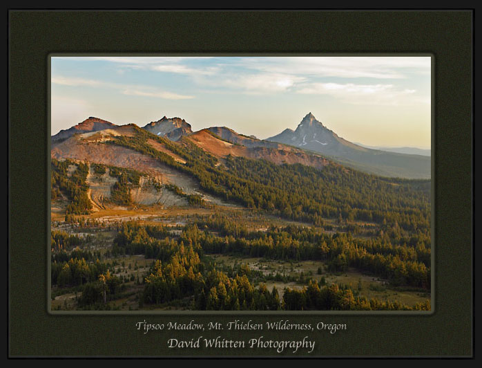 Mt. Thielsen, Tipsoo Meadow, Pacific Crest Trail, Cascade Mountains Oregon.