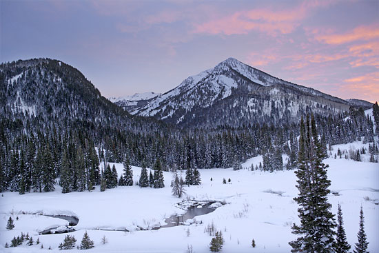 Mt. Kessler Cardiff Fork Wasatch Mountains picture Utah