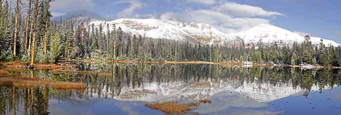 Bonny Lake near Mirror Lake High Uintas Wilderness photography by David Whitten
