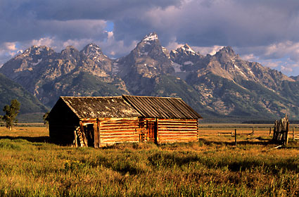 Teton Range Grand Teton National Park photograph Wyoming