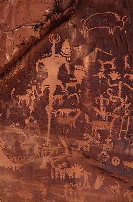 Petroglyphs Newspaper Rock State Park Utah photographer David Whitten
