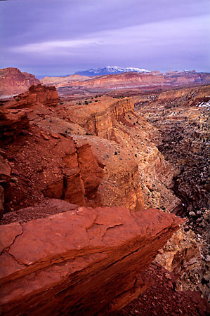 Fremont River Fremont Gorge Capitol Reef National Park photo Utah