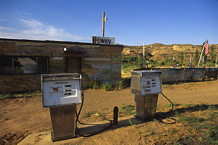 Dewey Utah Texaco Gas Pumps Fine Art Photography