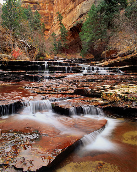 Archangel Cascades Zion National Park Photograph