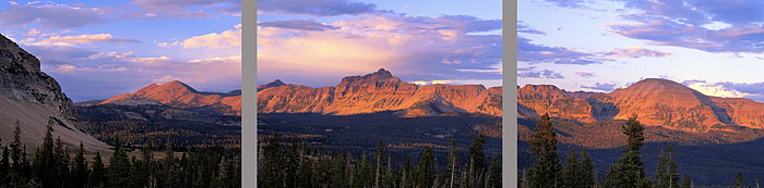 Uinta Mountains, Utah High Uintas Wilderness photograph by David Whitten