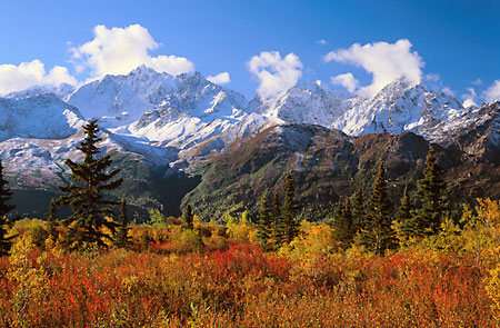 Chugach Mountains Alaska Photos Matanuska Valley
