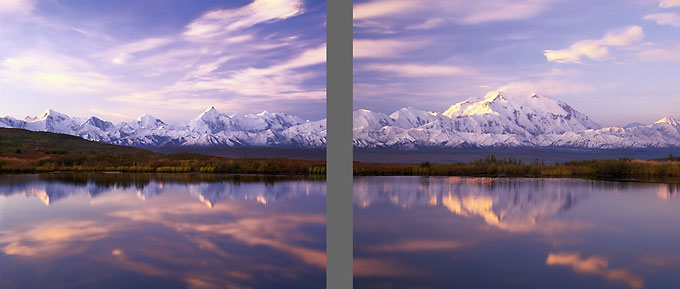Alaska Photography Alaska Range Mt. McKinley Denali National Park Alaska Photographer David Whitten
