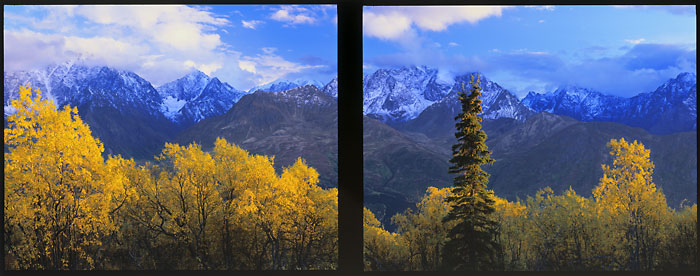 Chugach Mountains Matanuska Valley Alaska photographer David Whitten