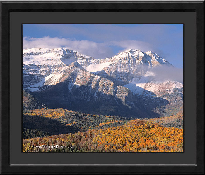 Mount Timpanogos Utah Photograph - Landscape and Wildlife Photography by David Whitten Fine Art Photographs, limited editions and stock photography