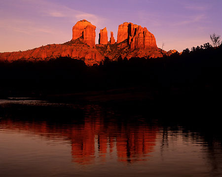 Cathedral Rocks Oak Creek Sedona Arizona