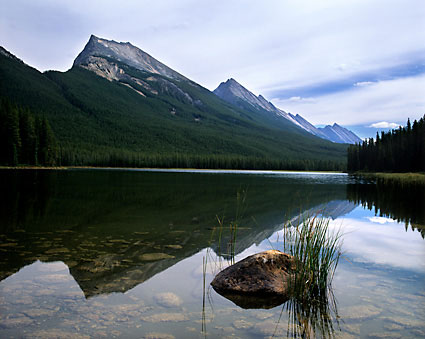 Endless Chain Ridge, Buck Lake, Jasper National Park photographs Alberta Canada