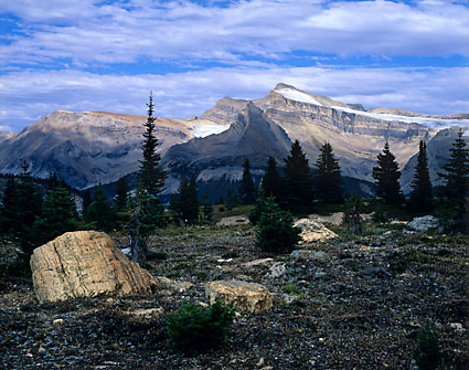 Mt. Balfour Yoho National Park photograph British Columbia Canada