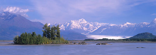 Alaska Photos Knik River Knik Glacier Chugach Mountains Alaska