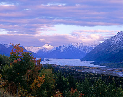 Matanuska Glacier Chugach Mountains Alaska photos