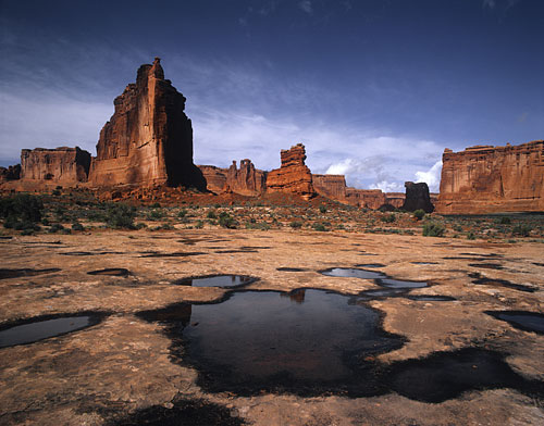 Courthouse Towers Arches National Park photography Utah photographer