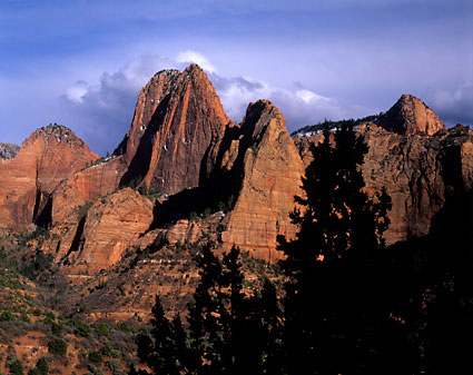 Kolob Canyons Zion National Park photo by David Whitten