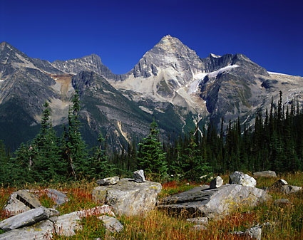 Mt. Sir Donald Glacier National Park photos British Columbia Canada