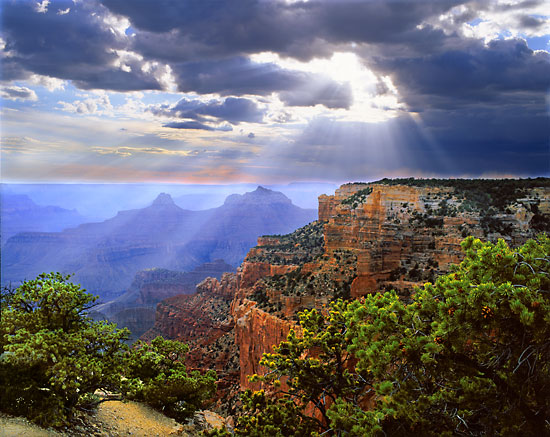 Brahma Temple Grand Canyon National Park Arizona Photographer David Whitten